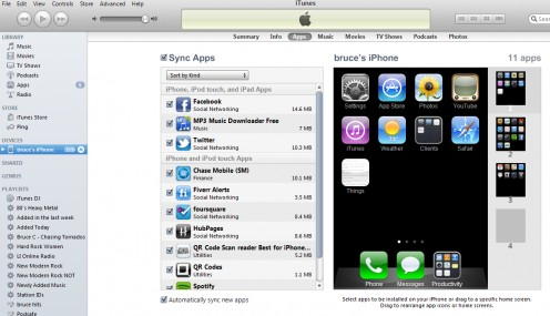 This is the correct and easiest way to sync apps on your iphone and this solves the quick closing issue.