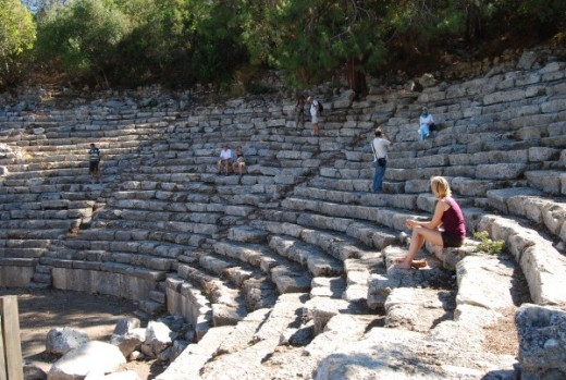 Ancient Theatre at Phaselis