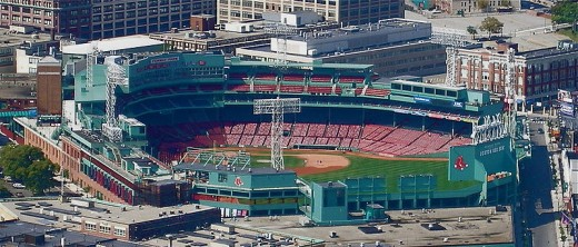 Photo of Fenway Park as it is today