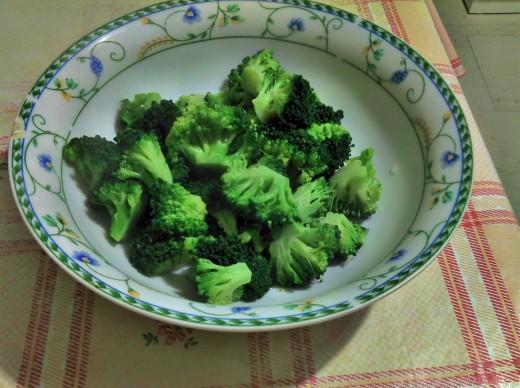 Vibrant broccoli...