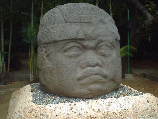 Olmec Colossal Head, Parque-Museo de La Venta