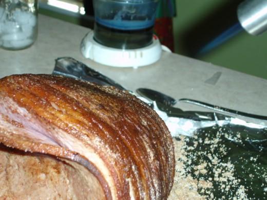 Honey baked ham recipe