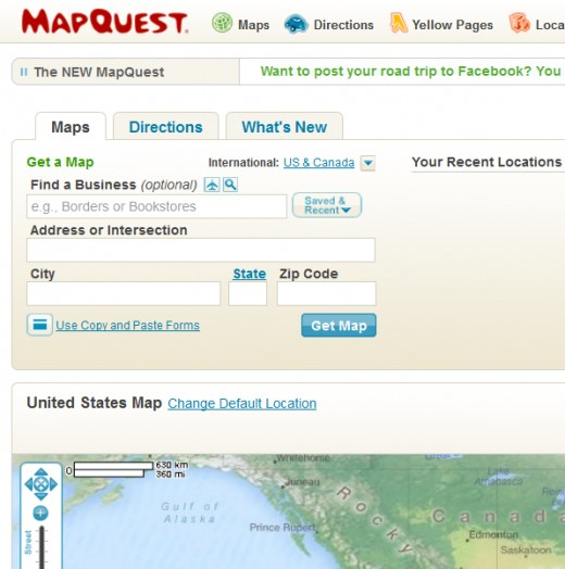 Mapquest Classic Driving Directions Explained