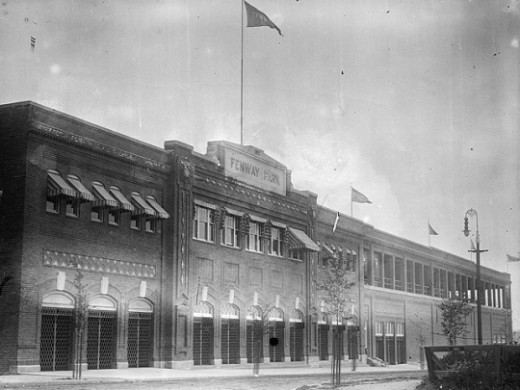 The Palace built on the Fens in it's opening season in 1912.