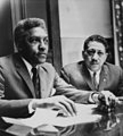Bayard (left) 1964.