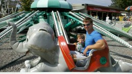 My youngest son's favorite ride was the Jumbo Elephants.