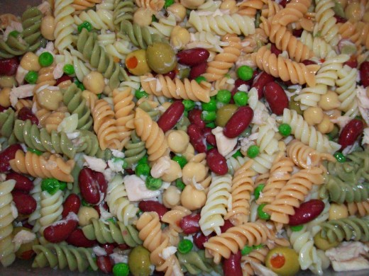 Our family's favorite kid-friendly pasta salad
