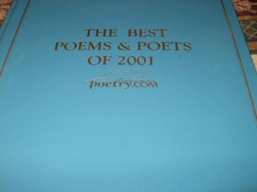 "I was published in this book in 2002.  The book was published by the Library of Congress.  My poem is ""If""."