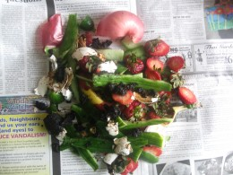 Wrap Your Composting Waste in Newspaper