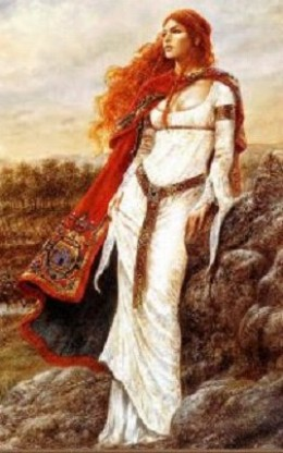 Boudicca Queen of the Iceni  Public Domain