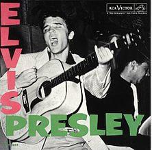Elvis' 1st LP 1956