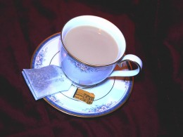 A cup of chai.