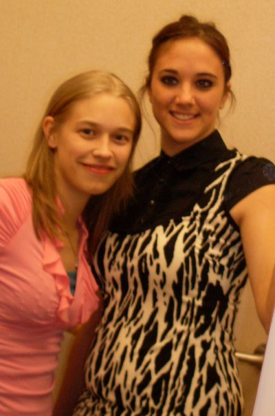 My best friend Cassey and I.