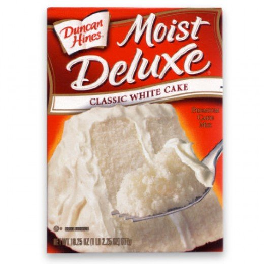 I used the classic white moist deluxe cake mix
