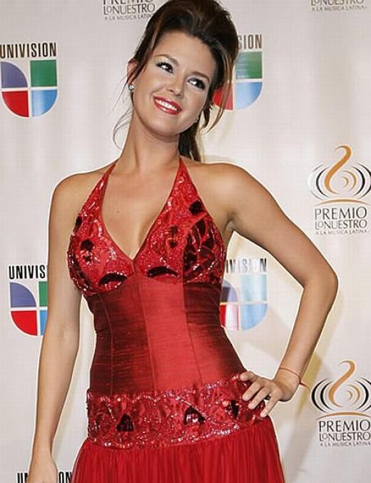 Beautiful actress, singer and former Miss Universe, Alicia Machado.