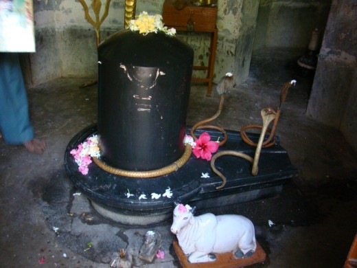 Central Shiva Lingam of the main temple