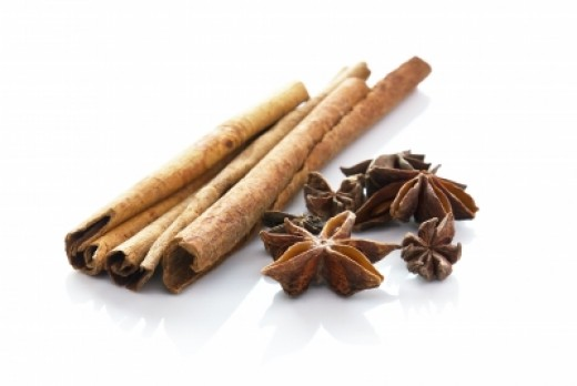 Cinnamon and star anise make up the spices in the masala variation of chai
