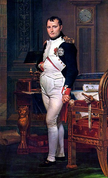 Napoleon Bonaparte, Emperor of France and Emperor of Rome. He had formerly been a major figure in the French Revolution
