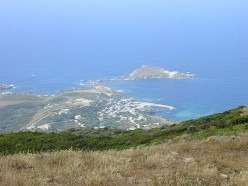 The Peaceful View from a Corsican Hilltop