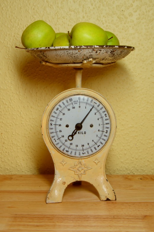 Berthold Werner, weighing scale