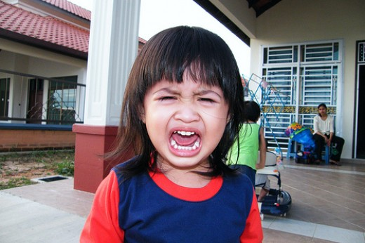 Thats a full-blown temper tantrum