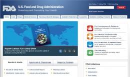FDA Home Page