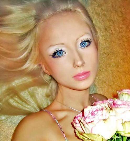 Living doll Valeria Lukyanova. Photo Facebook