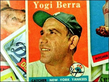 Yogi Berra baseball cards