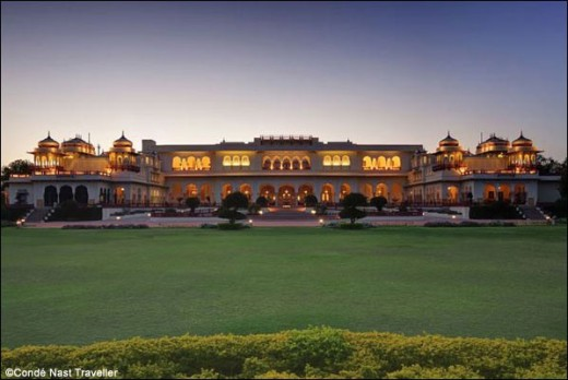 Palace Hotel in India