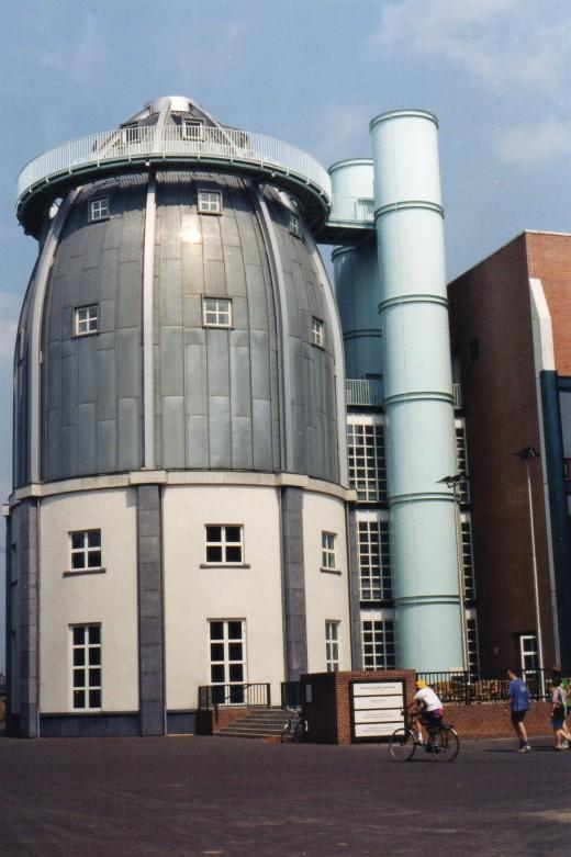 The Bonnefanten Museum, designed by Aldo Rossi