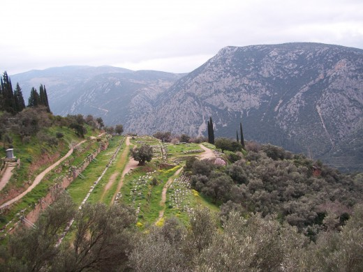 our field trip to Delphi