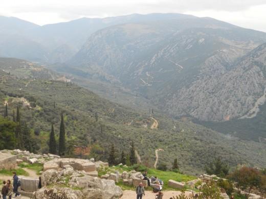 Delphic landscape