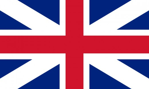 Flag of the United Kingdoms of Great Britain and Scotland
