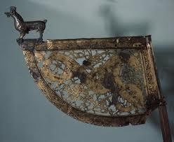 War standard - capped by the boar figure, symbol of bravery in battle!