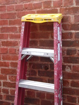 A ladder for the painter!