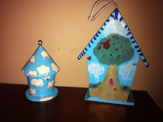 We plan on filling our front yard with as many wacky and beautiful bird houses as possible this year.