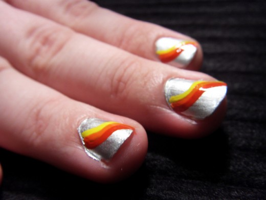 5 DIY Nail Art Designs: Simple and Easy Orange Nail Ideas ...
