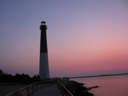 Sunset at Barnegat Light House, NJ
