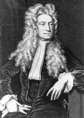 Isaac Newton -  physicist, mathematician, astronomer, theologian, natural philosopher and alchemist