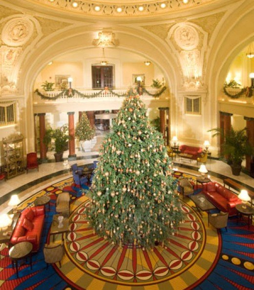 Christmas at the Battle House Hotel.