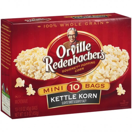 Plain Microwave Popcorn Microwave Popcorn