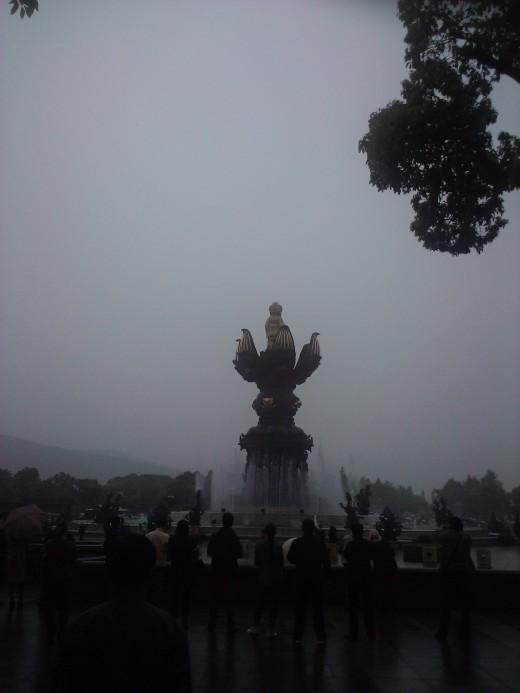 Buddha theme park (Lingshanshengqing)