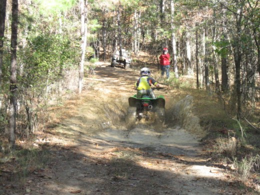 There are some local private ATV trails, but it's always changing so do a little research before you go so you can have a little fun playing in the mud!