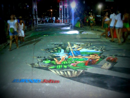 3D Street Art Painting entry