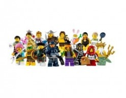 Lego Minifigures Series 7 Bump Codes & Dot Codes