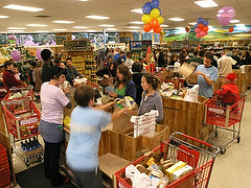 Cashiers face mobs of customers sometimes on a daily basis. But you and I do not have to make their jobs harder. Do we?