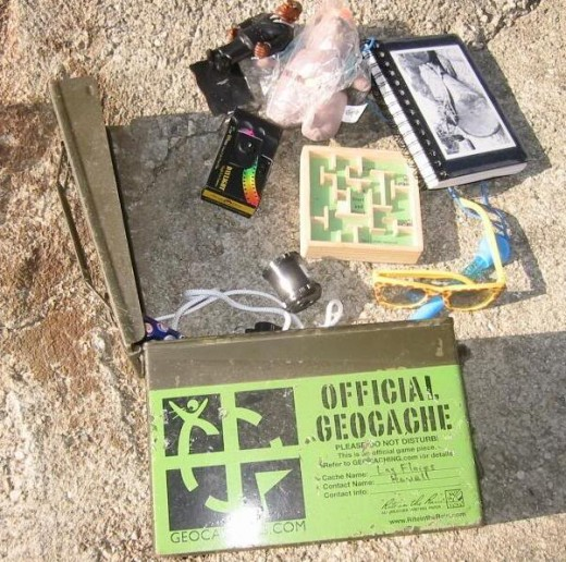 example of an ammo box cache
