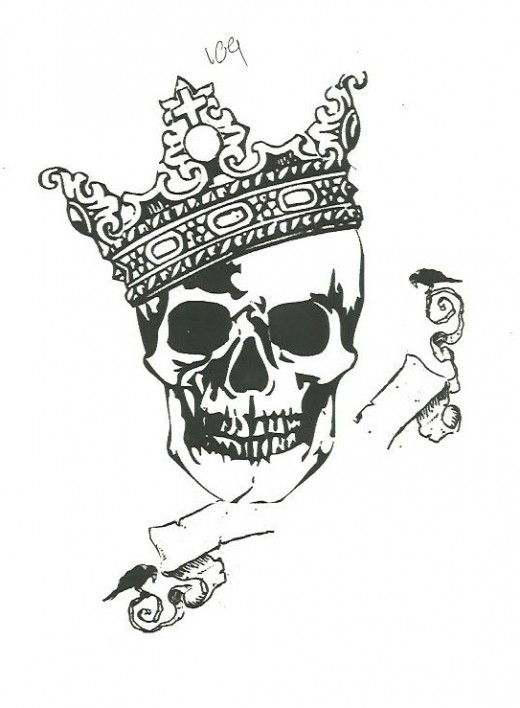 The basic design for my tattoo.