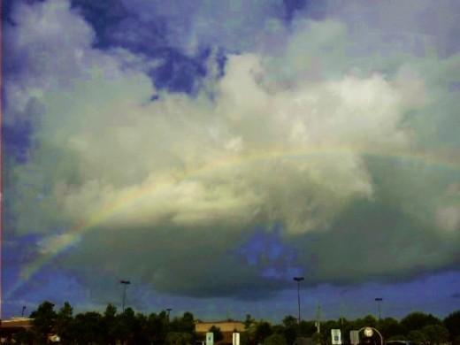 A full rainbow.