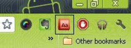 Dictionary Icon after installation